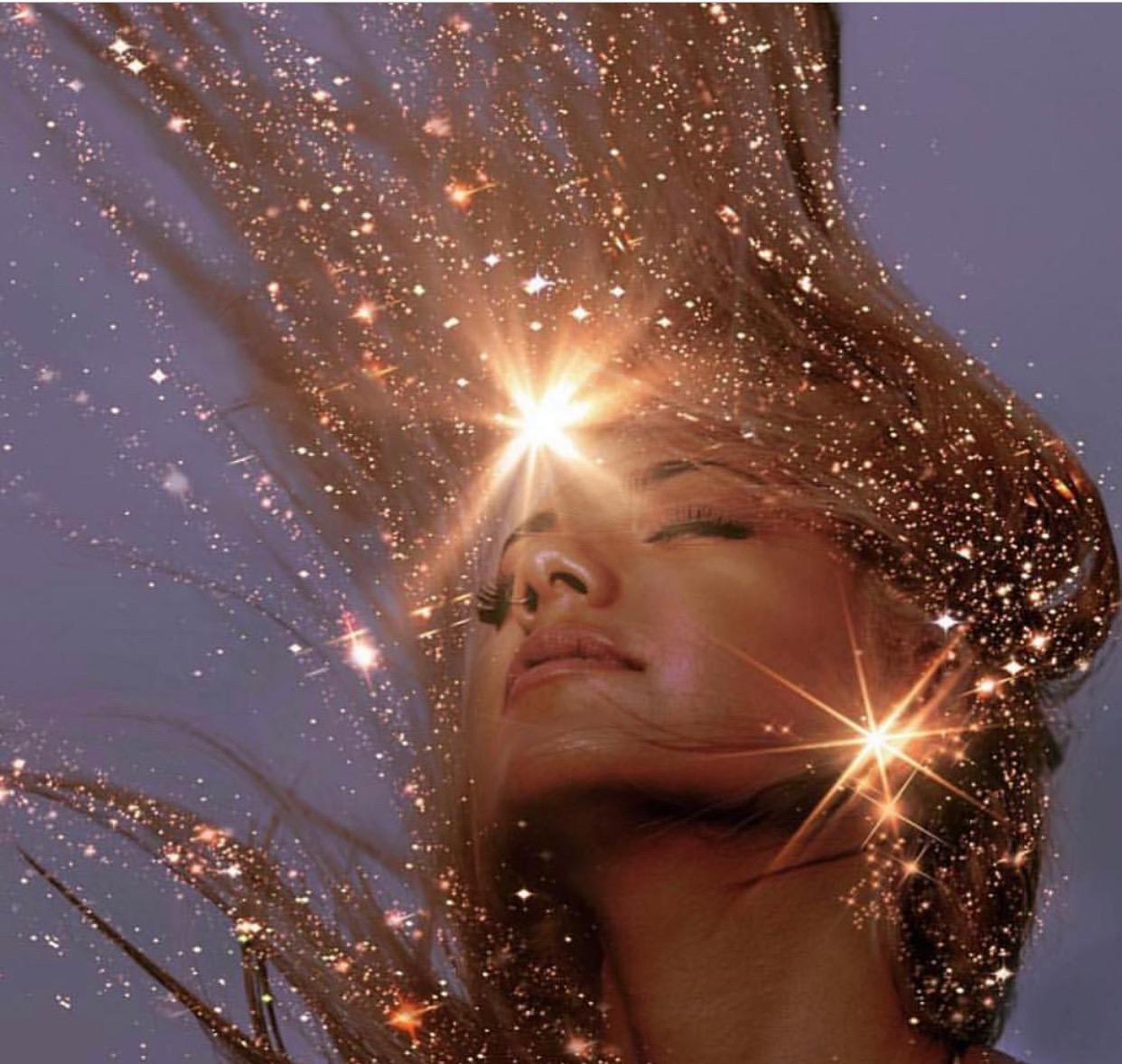 Sparkle like the sun - Hair Tinsel is the new hair fun!!
