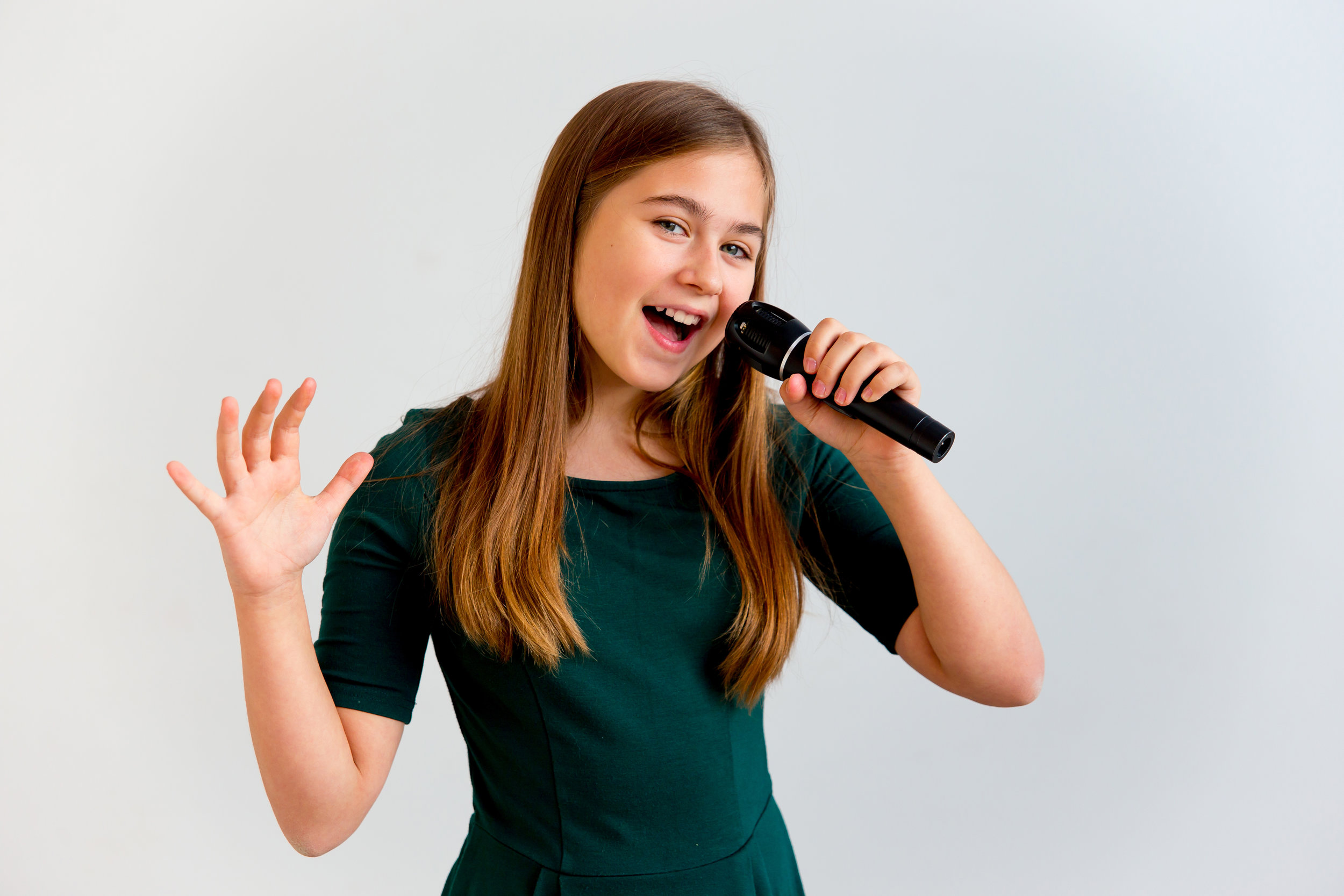 Singing has been scientifically proven to make you happier and improve your mood!