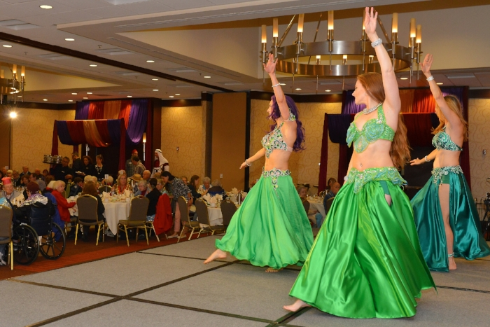 Belly Dance at the Hilton