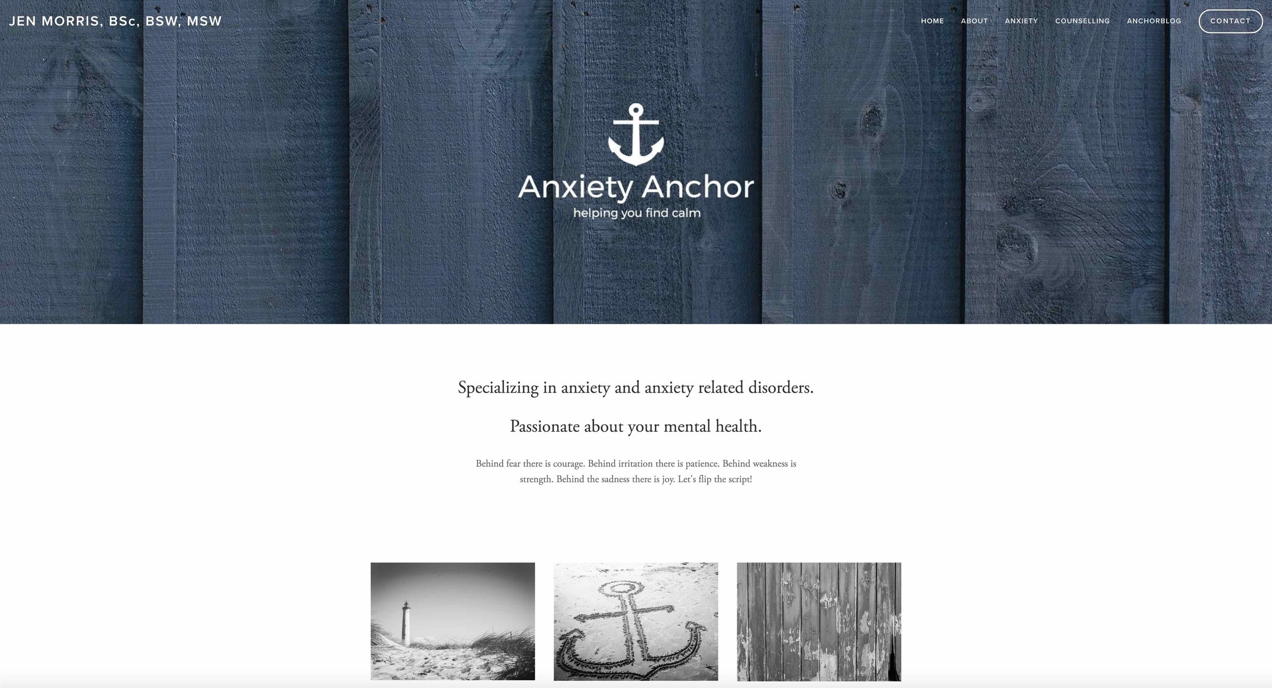 Anxiety Anchor