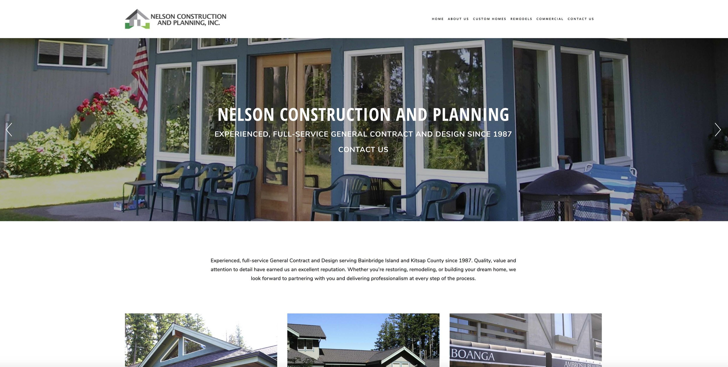 Nelson Construction and Planning