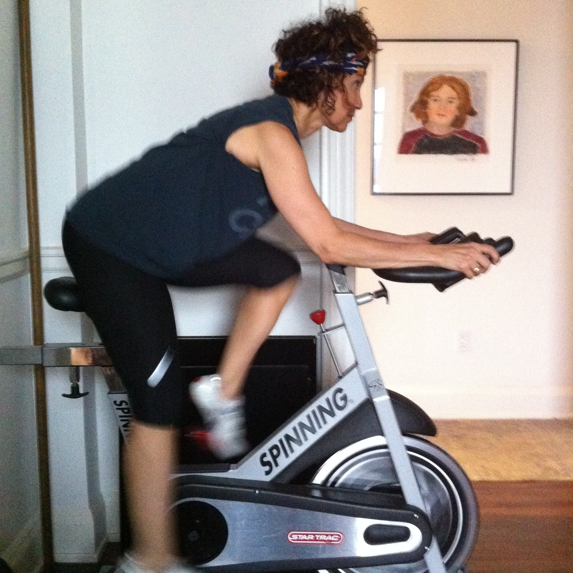Will Spinning Cause Bulky Quads? - by abbie galvin