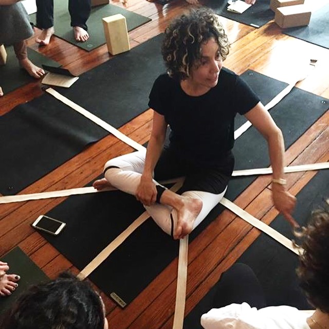 Pattern, Paradox and Katonah Yoga - by abbie galvin