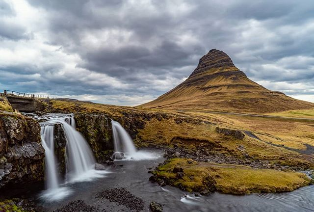 Kirkjufell - translates to Church Mountain. You may know it as Arrowhead Mountain from Game of Thrones. Welcome north of the wall! . . . . #kirkjufell #churchmountain #snaefellsnes #gameofthrones #got #iceland #visiticeland #landscape_hunter #landscape_captures #discoverearth #exploretocreate #keepexploring