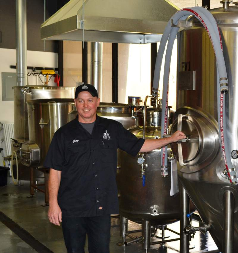 COTATI LOCAL OPENS BREWERY - Over the years Greg Rasmussen has been known as a number of things; lifelong Forestville resident, firefighter, bass fisherman and award-winning home brewer. Now he can add small business owner to the list.This weekend officially marks the grand opening of Grav South Brew Co. in Cotati. Located at 7950 Redwood Drive, Suite 15, facing the Gravenstein Highway. The opening of this new watering hole represents the next step for a highly accomplished home brewer…