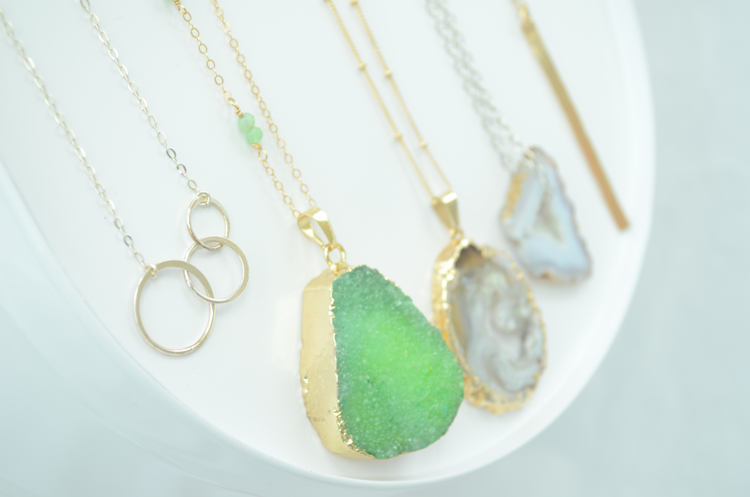 You are going to fall in love with these necklaces! They complete any outfit.