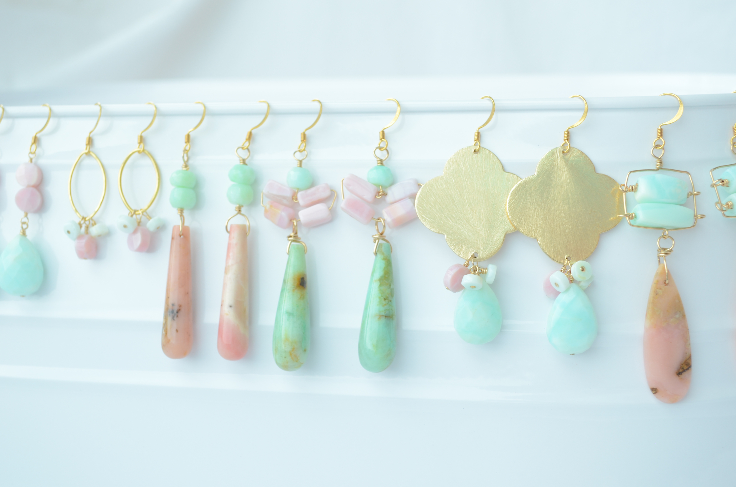 Check out my earrings. Tons of handcrafted styles just added!