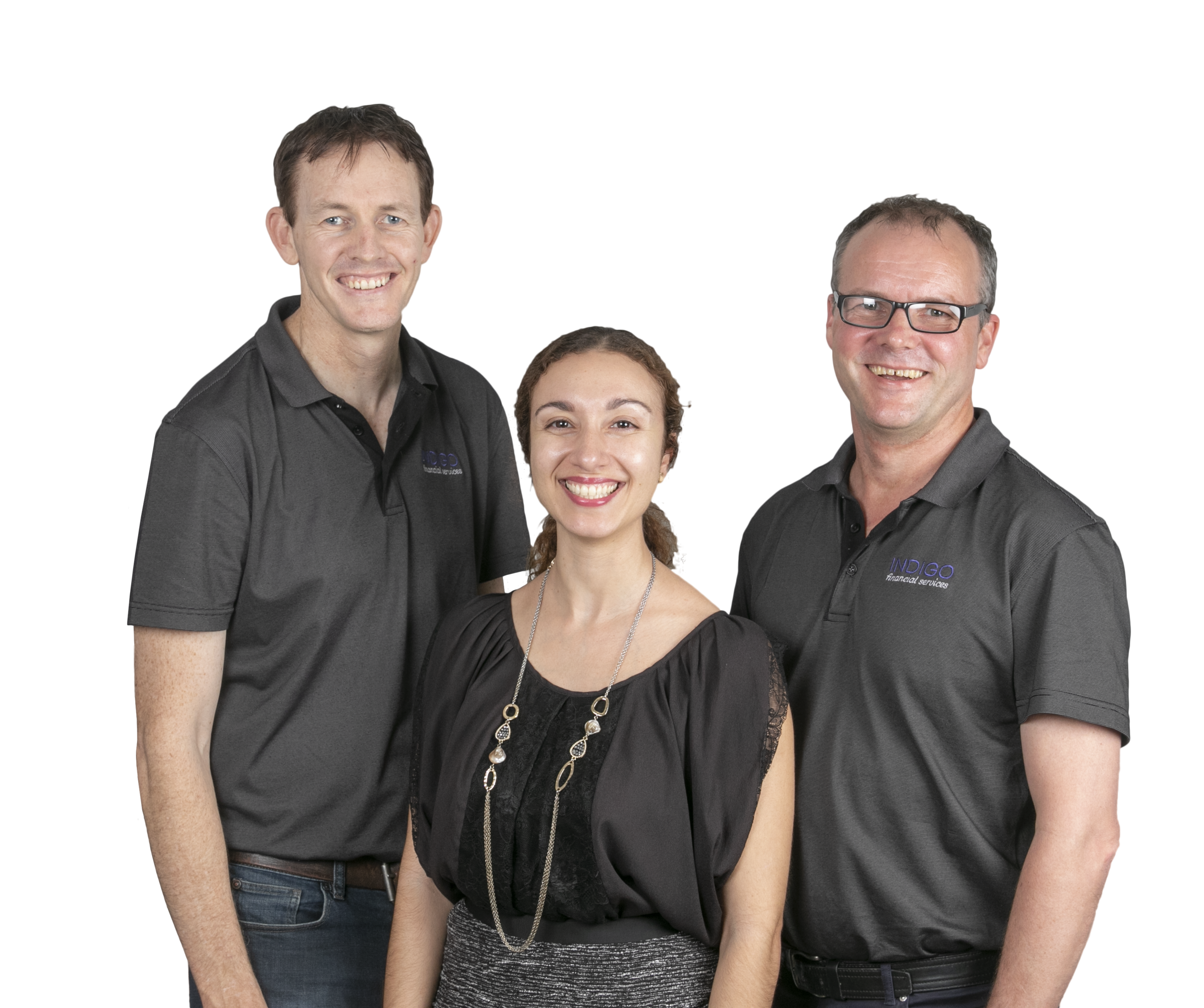 The Indigo Financial Services team of Dan, Louise and Dave.  Find out more about us .