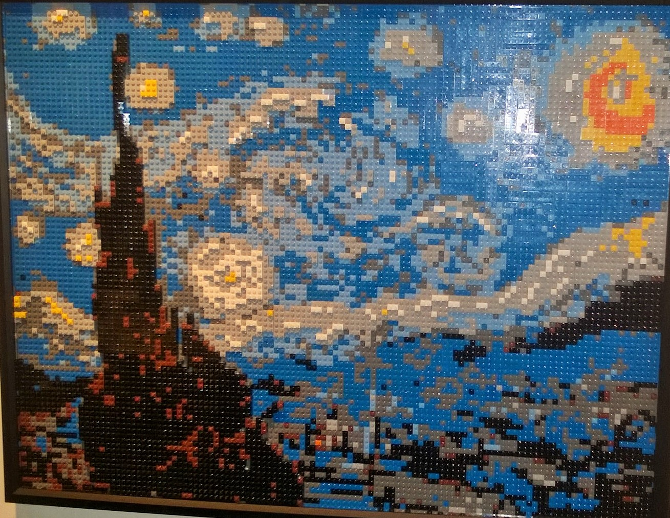 The Art of the Brick at the Franklin Institute