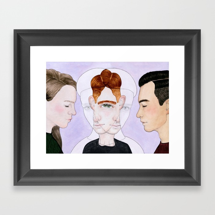 Framed Print - Bisexual Invisibility.jpeg