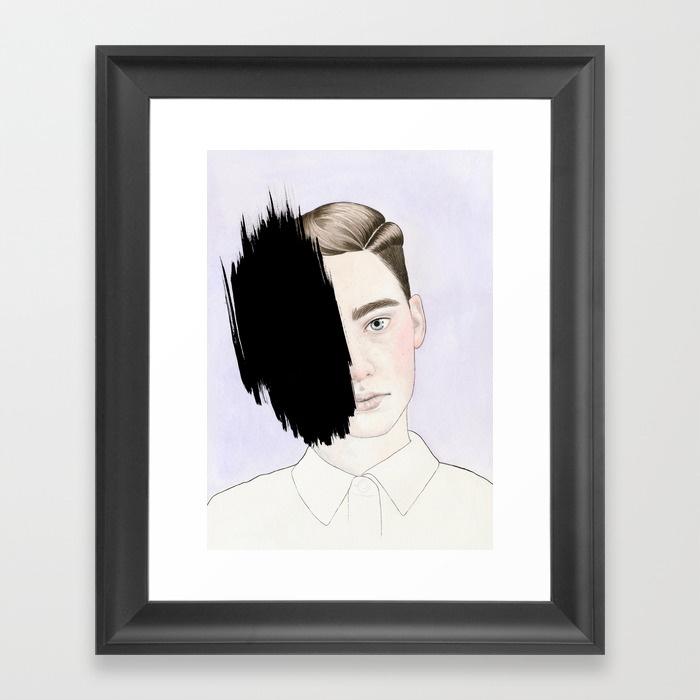 Framed Print - Hiding #1.jpeg
