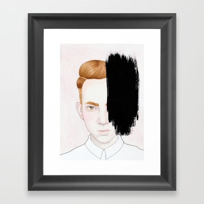 Framed Print - Hiding #5.jpeg