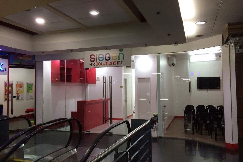 SIEGEN SOLUTIONS is at the 3rd floor of Empire Centre Mall Pasay.
