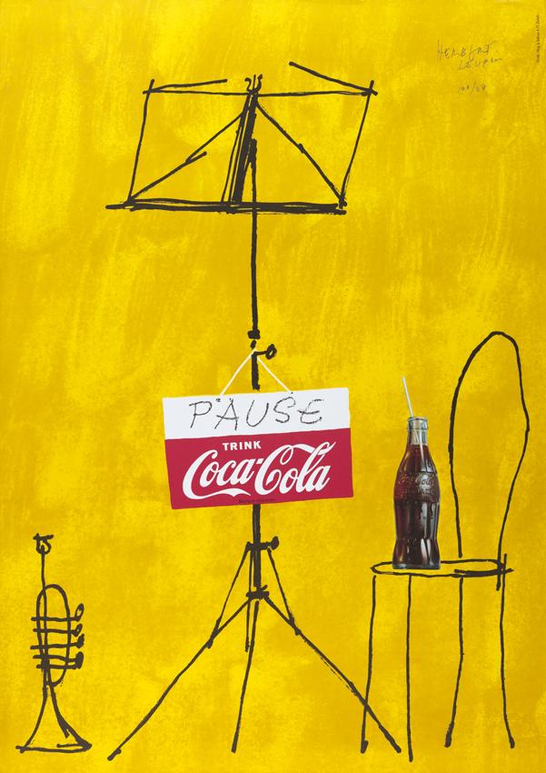 Herbert Leupin Coca-Cola Orchestra Poster Design