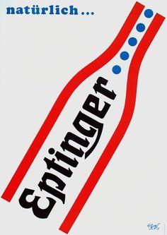 Herbert Leupin Eptinger Poster Design