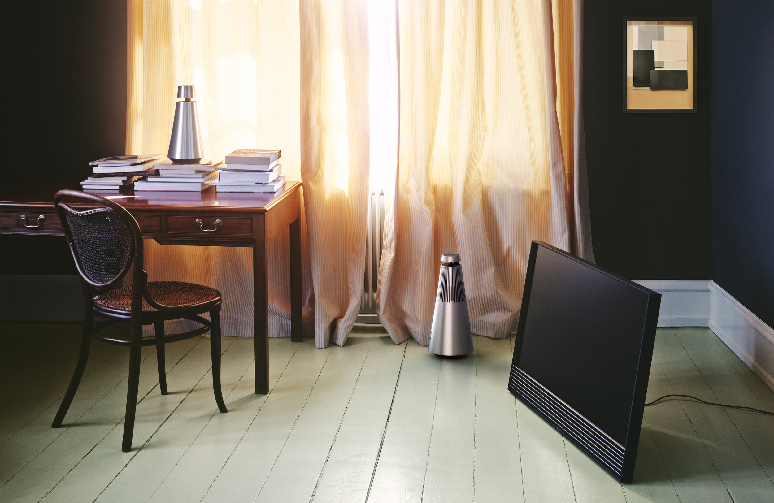 The new Beosound speakers from  Bang & Olufsen  fit in anywhere