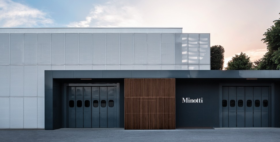Minotti Factory Media Italy