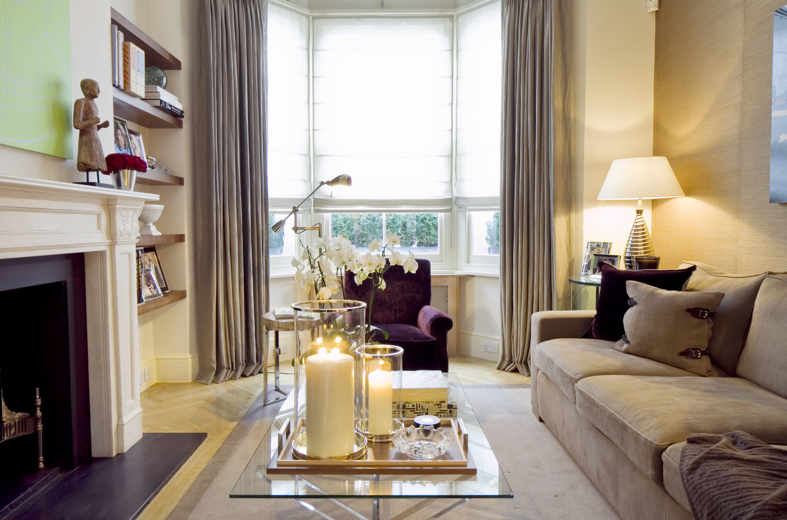 No. 5 Glebe Place, London, SW3. Interior designed and styled by Maurizio Pellizzoni.