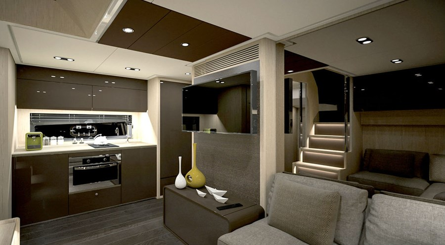 Azimut Atlantis 51 - Interiors