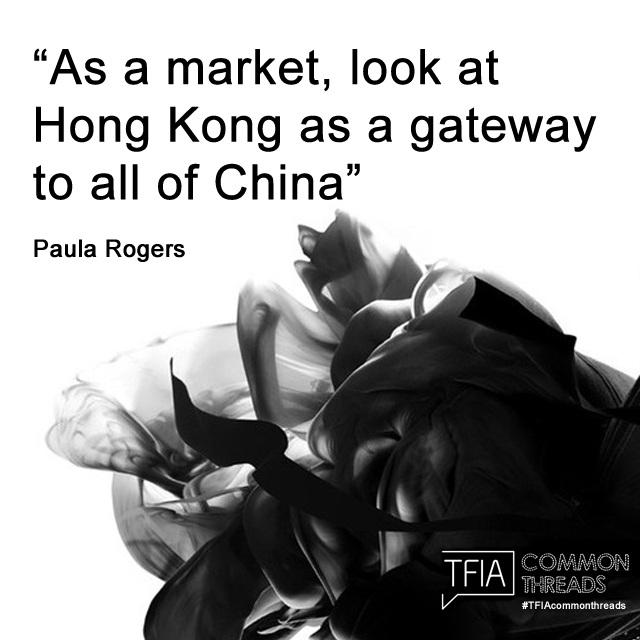 As a market, look at Hong Kong as a gateway to all of China - Paula Rogers Quote