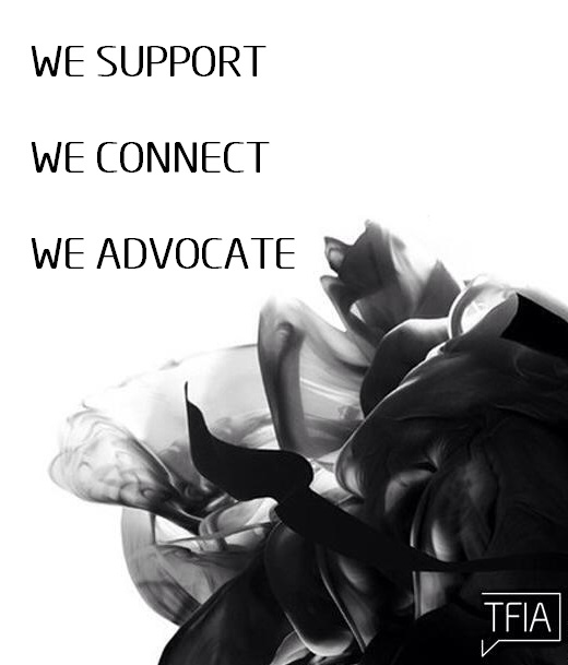 We Support We Connect We Advocate