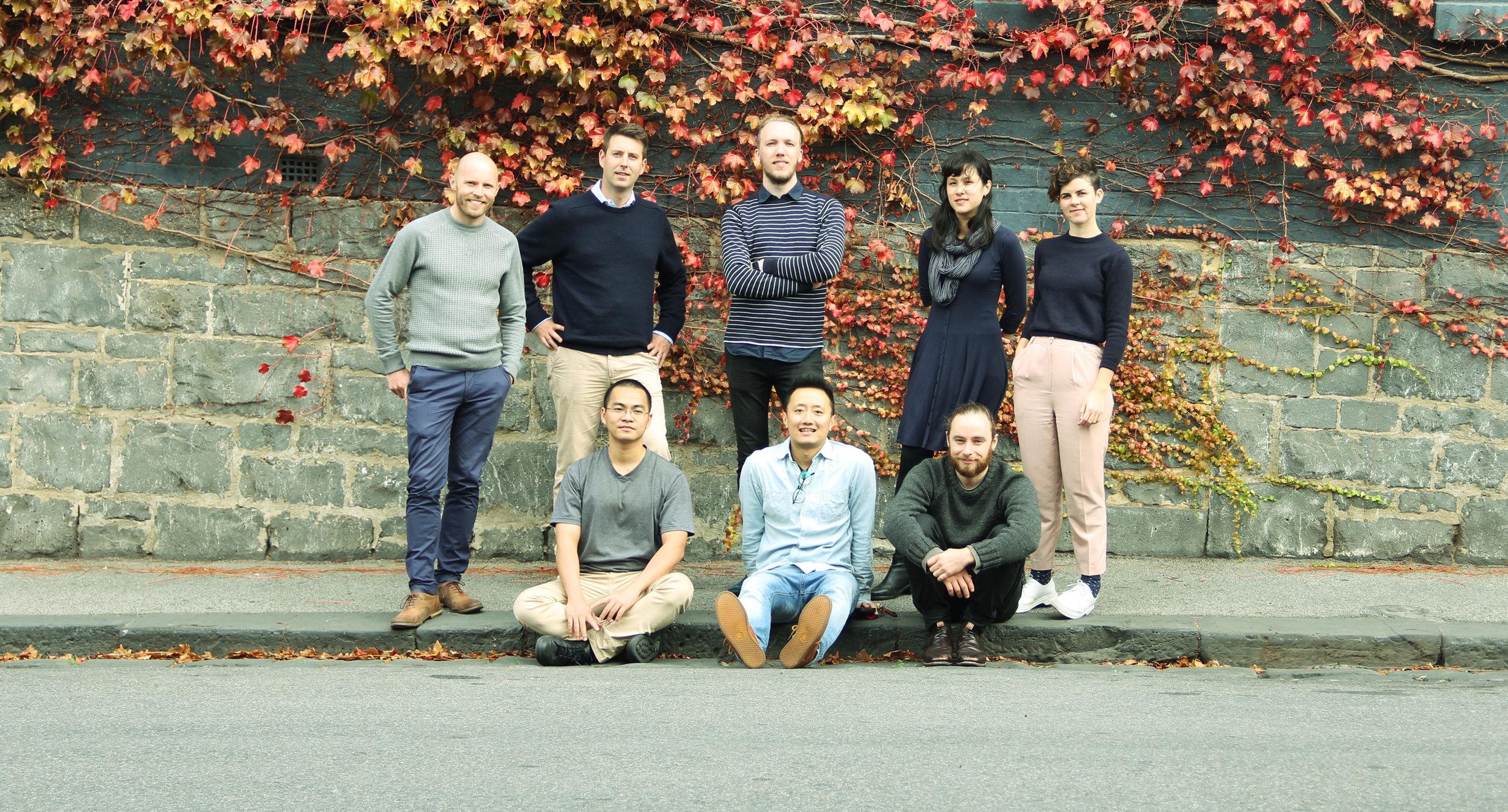 The Pozible Team
