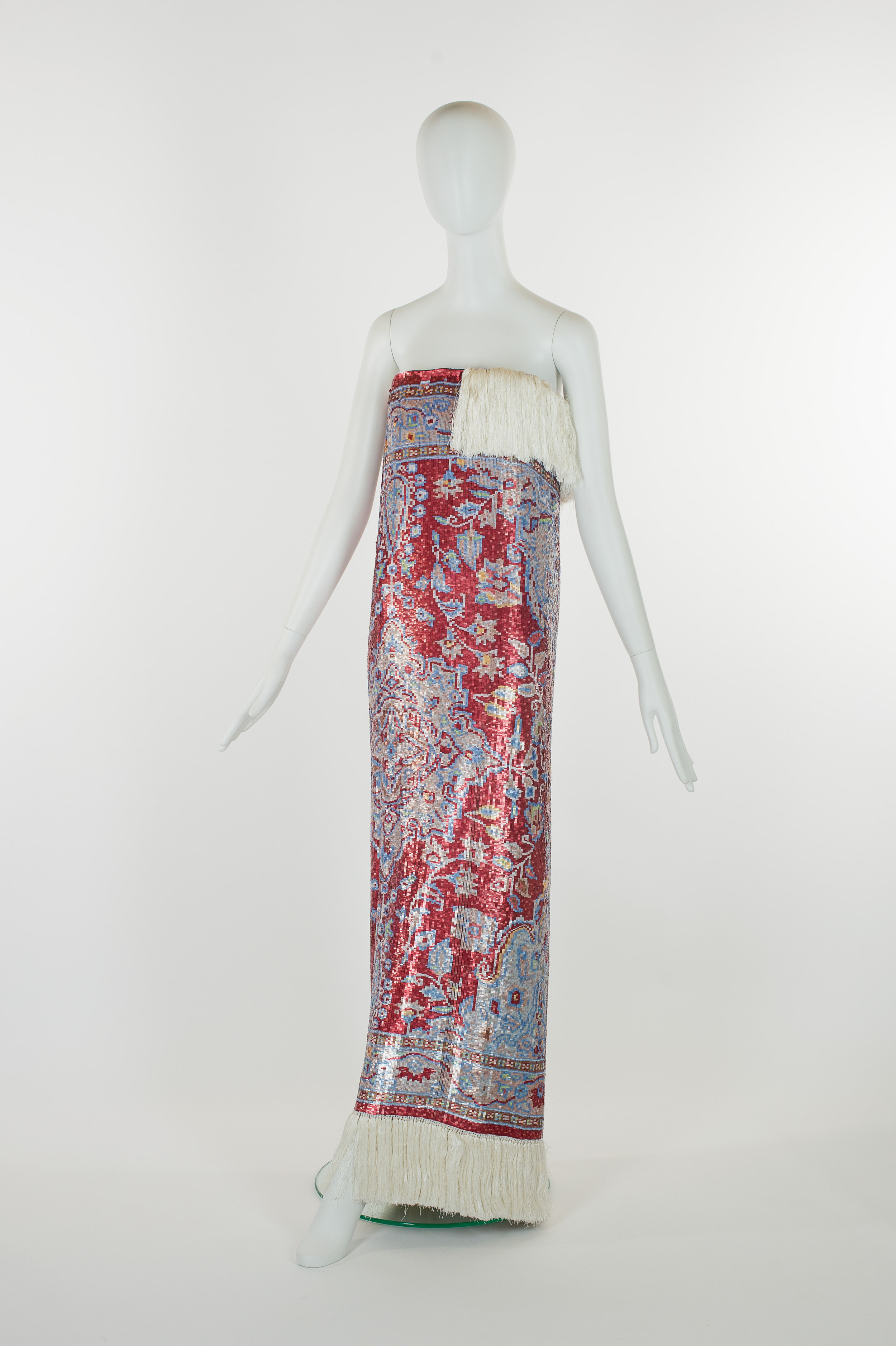 A Martin Margiela designed dress from The Charlotte Smith Fashion Collection.