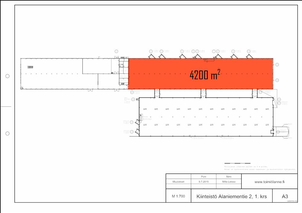 Toimitilanne Suomi, Espoo - Juvanmalmi, Alaniementie 2, Varastotila 4200 m²