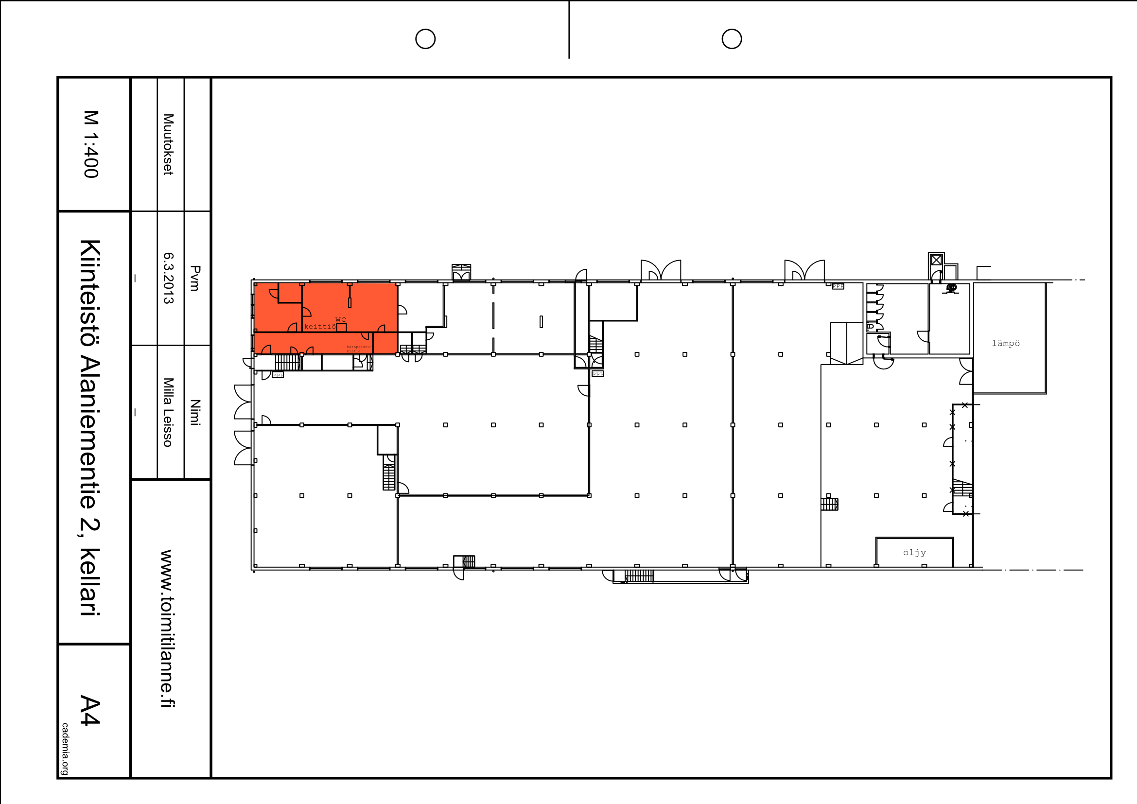 Toimitilanne Suomi, Espoo - Alaniementie, Toimisto- tai varastohuone 111 m²