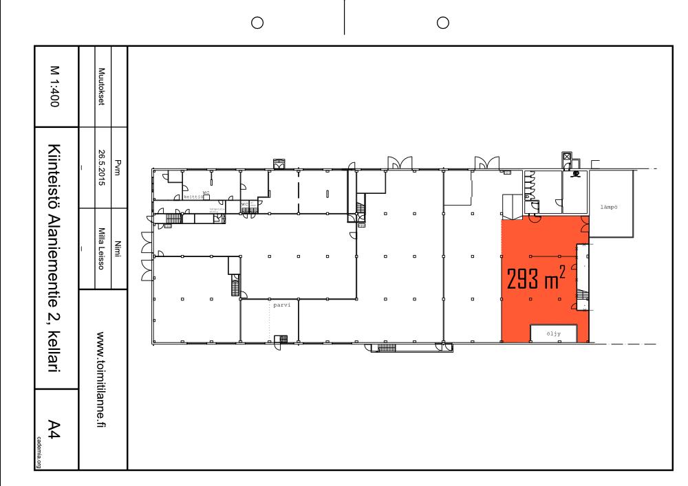 Toimitilanne Suomi, Espoo - Alaniementie, Varastotila 293 m²
