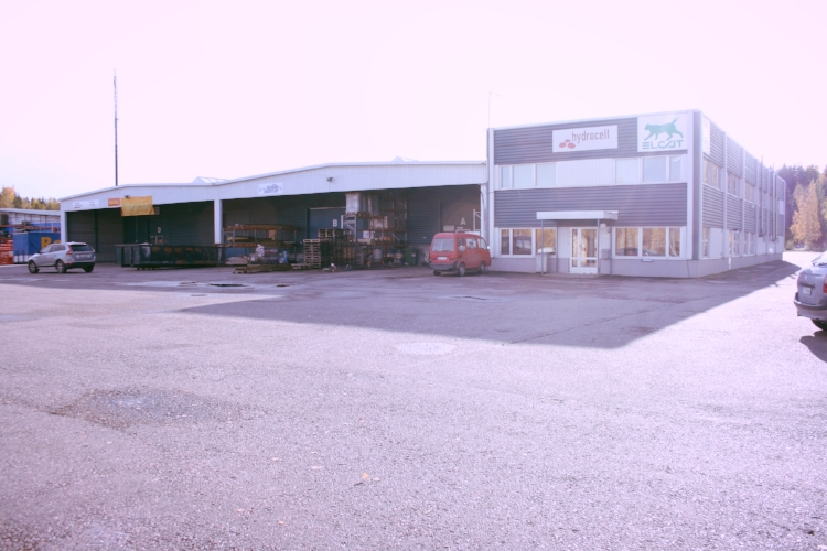 Toimitilanne Suomi, Järvenpää,  Minkkikatu 1-3. Tuotanto- tai varastotila 347 m².