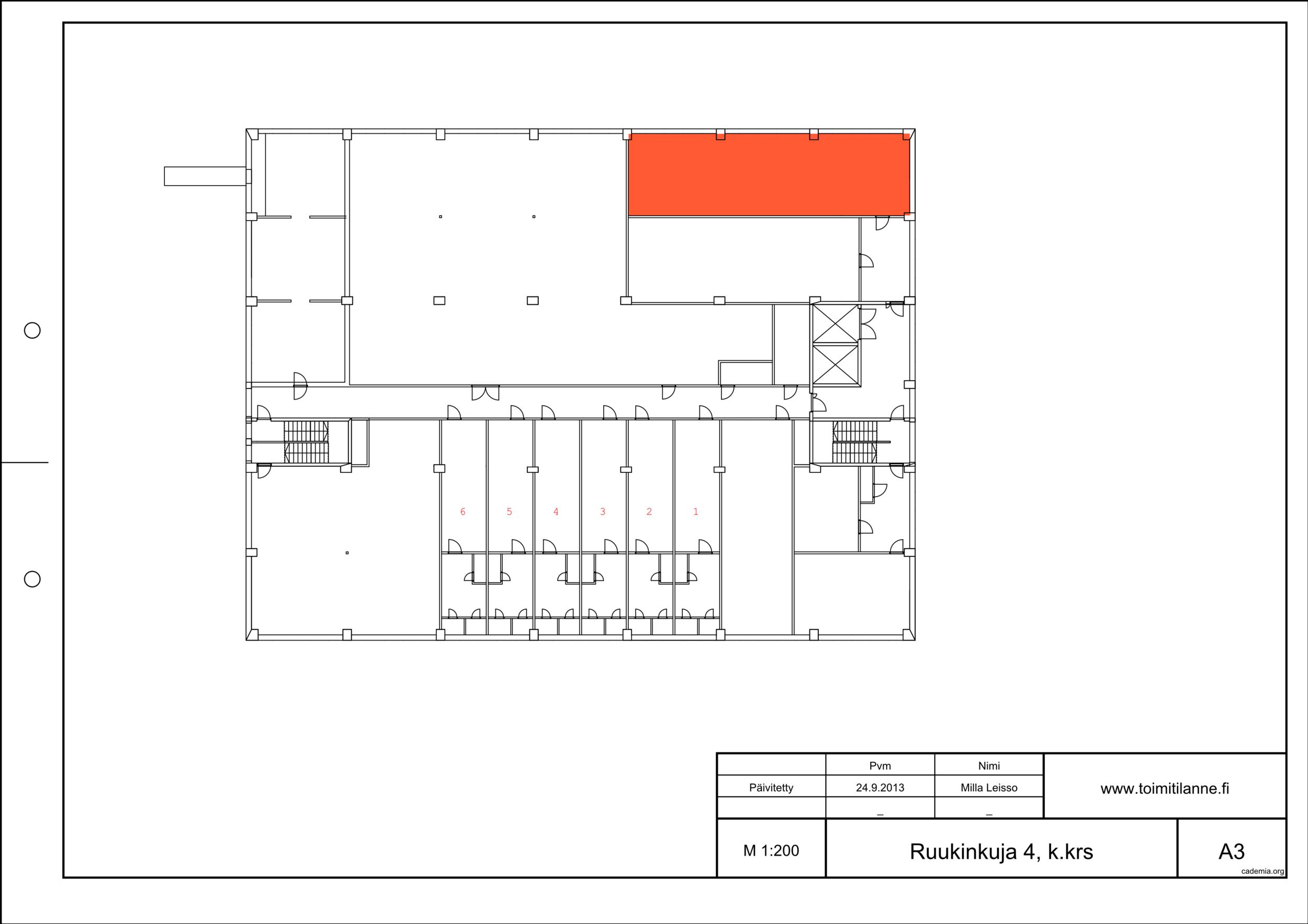 Toimitilanne Suomi, Espoo - Kiviruukki, Ruukinkuja 4, Varastotila 96 m²