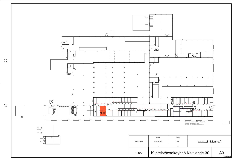 Toimitilanne Suomi, Lahden seutu - Orimattila, Kaitilantie 30. Varastohuone / pienvarasto 48 m².