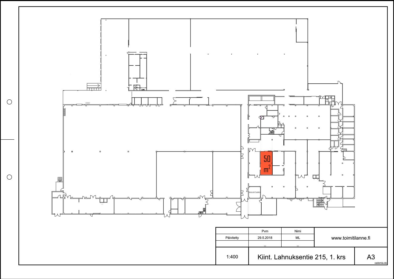 Toimitilanne Suomi, Nurmijärvi - Klaukkala, Lahnuksentie 215. Varastotila 50 m².