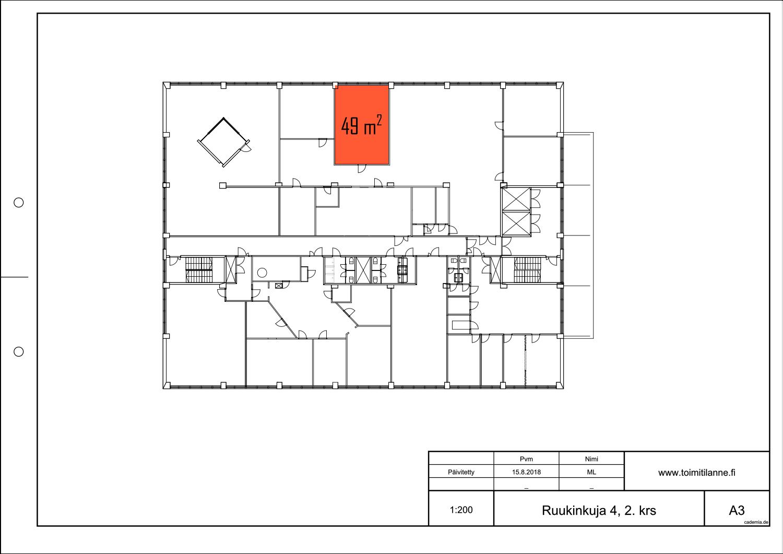 Toimitilanne Suomi, Espoo - Kiviruukki, Ruukinkuja 4, Toimisto- tai varastohuone 49 m²