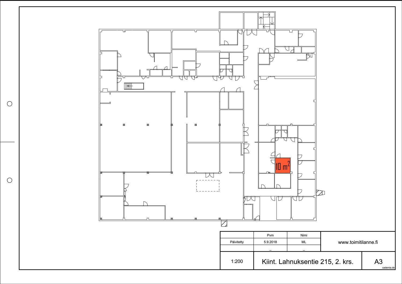 Toimitilanne Suomi, Nurmijärvi - Klaukkala, Lahnuksentie 215. Varastohuone 10 m².