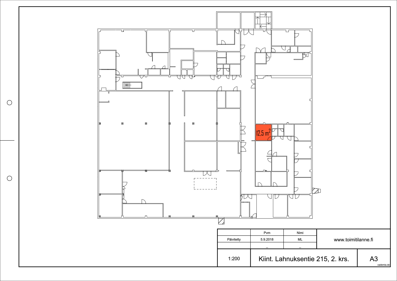 Toimitilanne Suomi, Nurmijärvi - Klaukkala, Lahnuksentie 215. Pienvarasto 12,5 m².