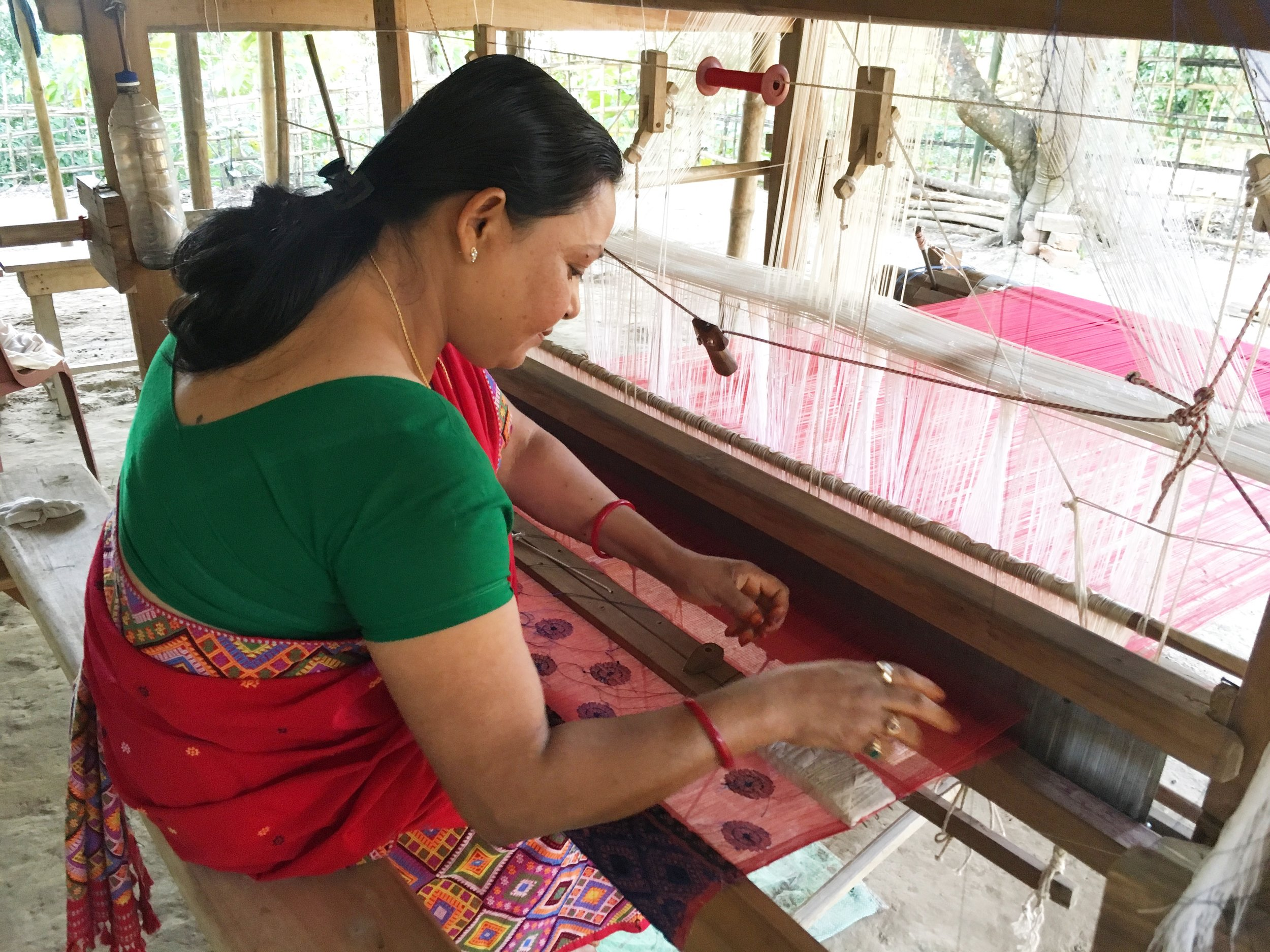In-house weaving unit