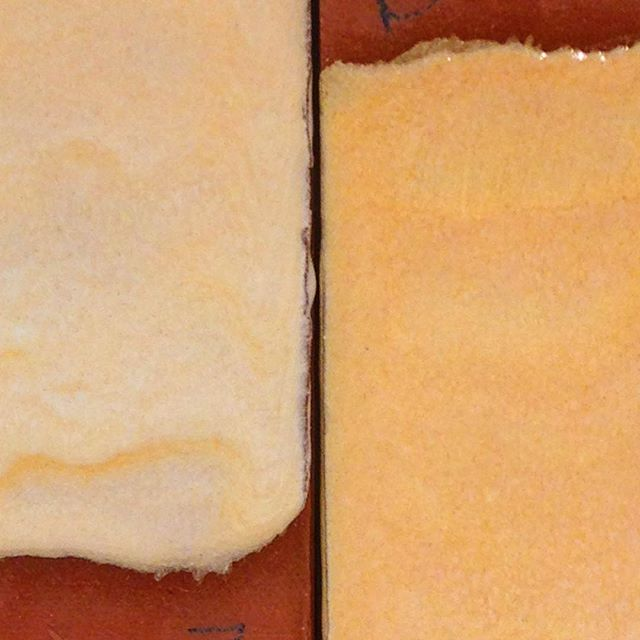 Glaze base 12 Light yellow 10% zircopax 5% light rutile Yellow 10% zircopax 10% light rutile