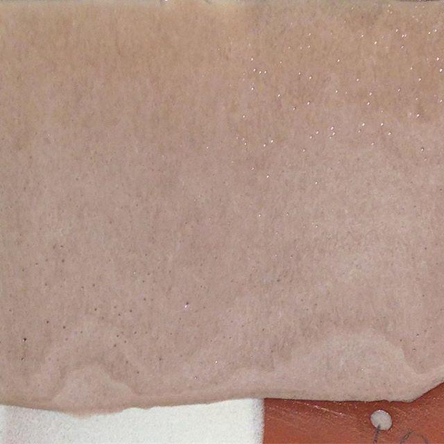 Light purple. Glaze base 12 10% zircopax 1% manganese dioxide #cone3