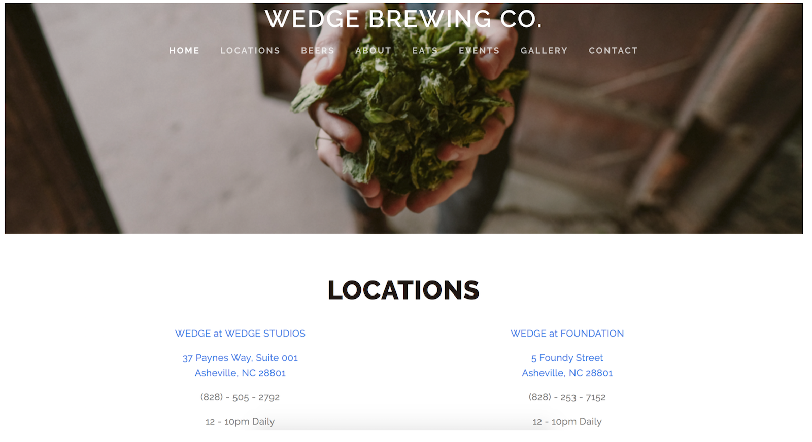 Wedge Brewing Co. | Authentic Asheville