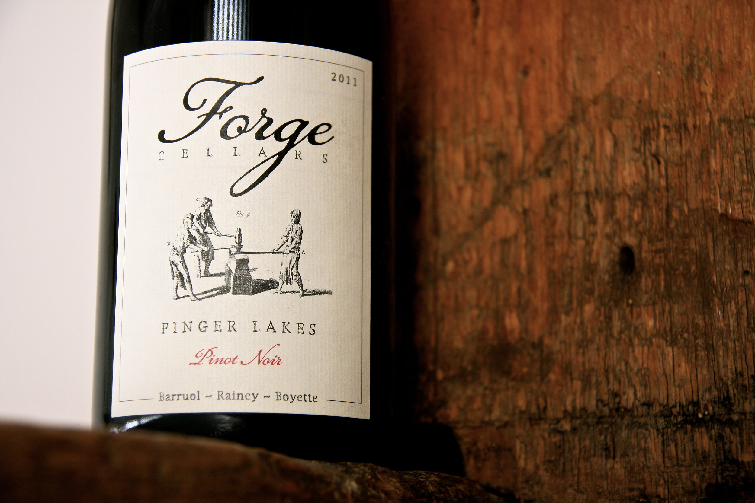 2011, our first vintage of Pinot Noir. (Photo: Wendy Houseworth)