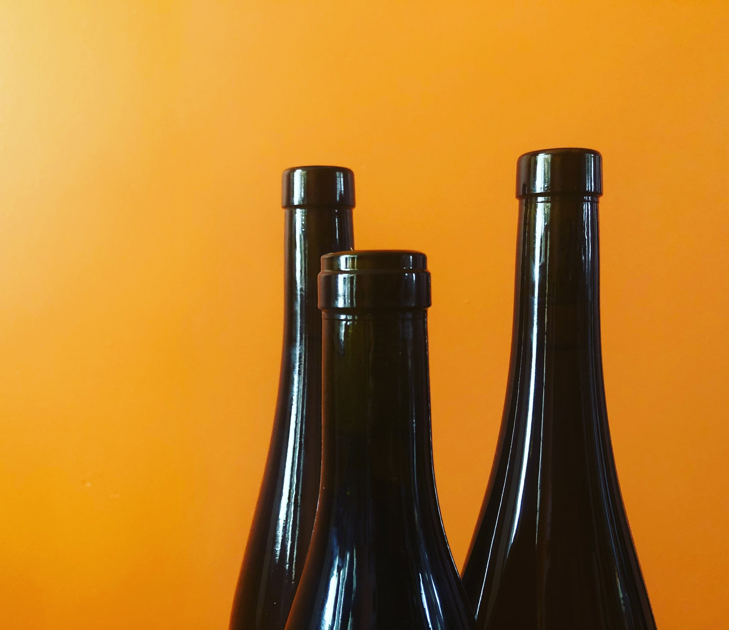 Naked Bottles Forge Cellars Riesling and Pinot Noir