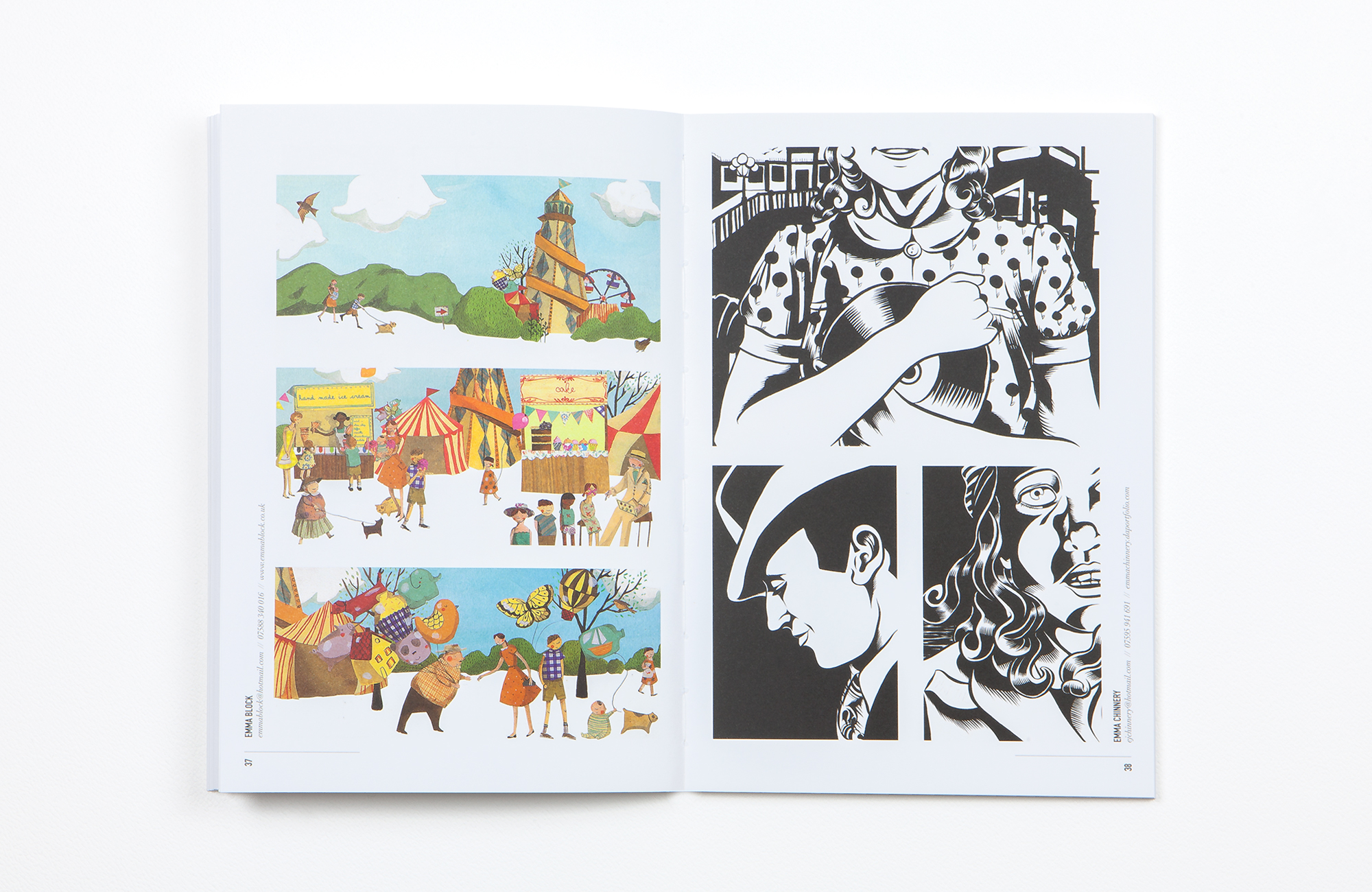 All Works Co._Graphic_Design_Studio_London_UnfoldingTalent_Print_Arts_Catalogue_09