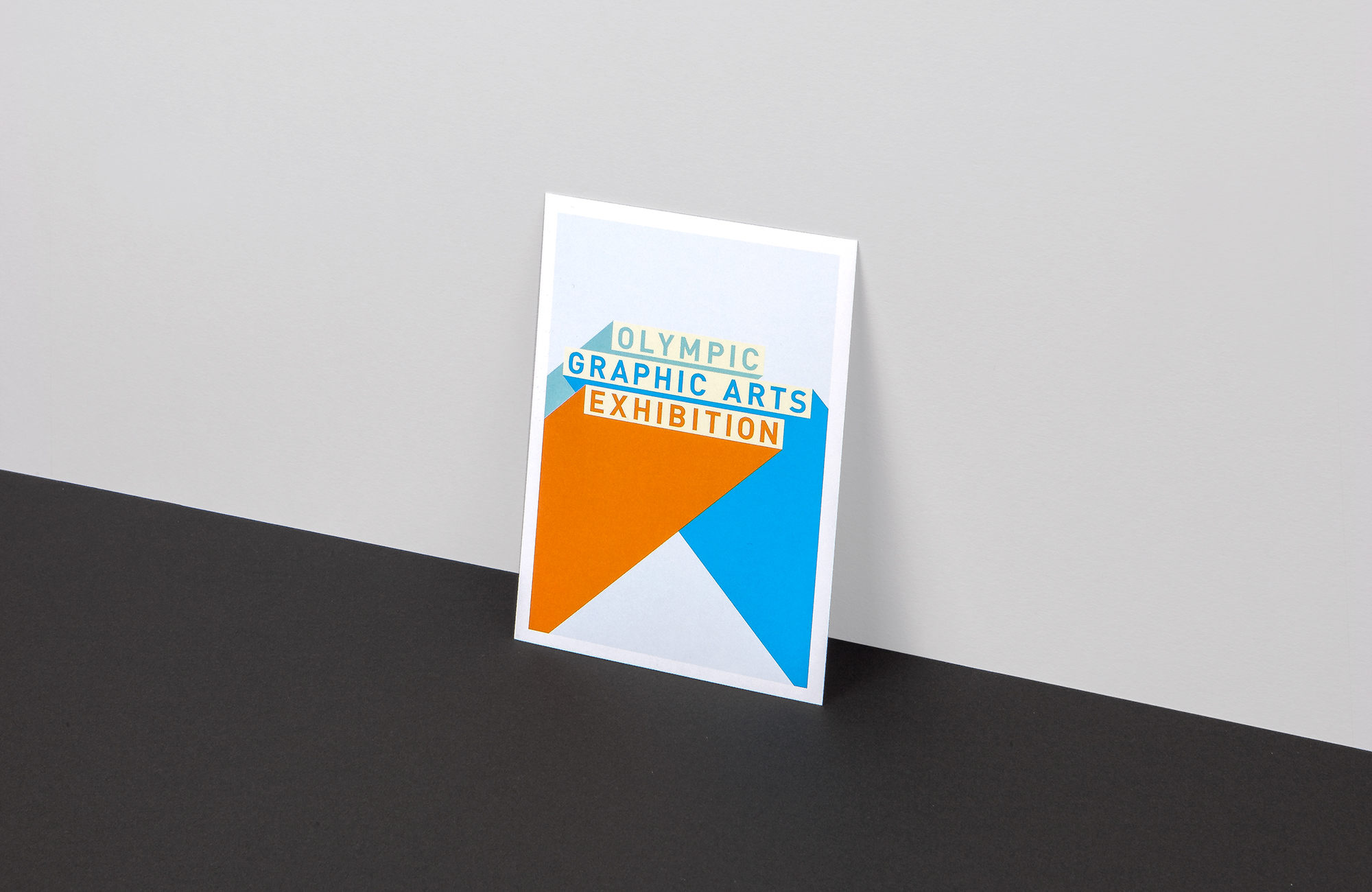 All Works Co._Graphic_Design_Studio_London_OlympicGraphicsArtsExhibition_Campaign_Print_Postcard
