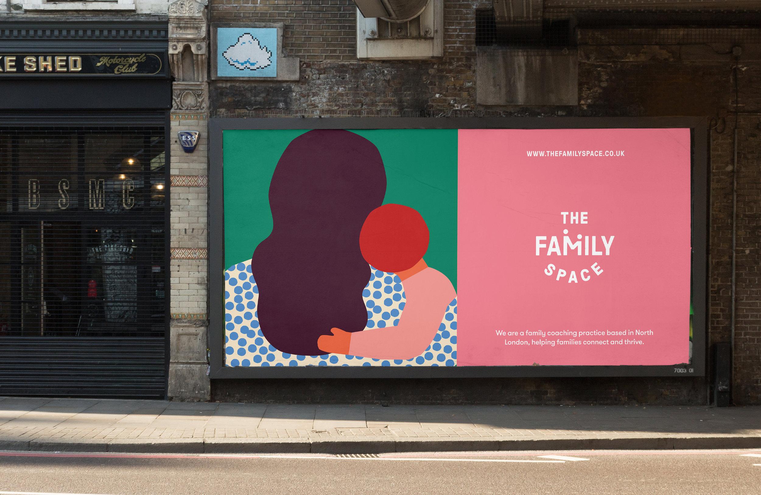 All Works Co._Graphic_Design_Studio_London_TheFamilySpace_Identity_Print_Poster Campaign
