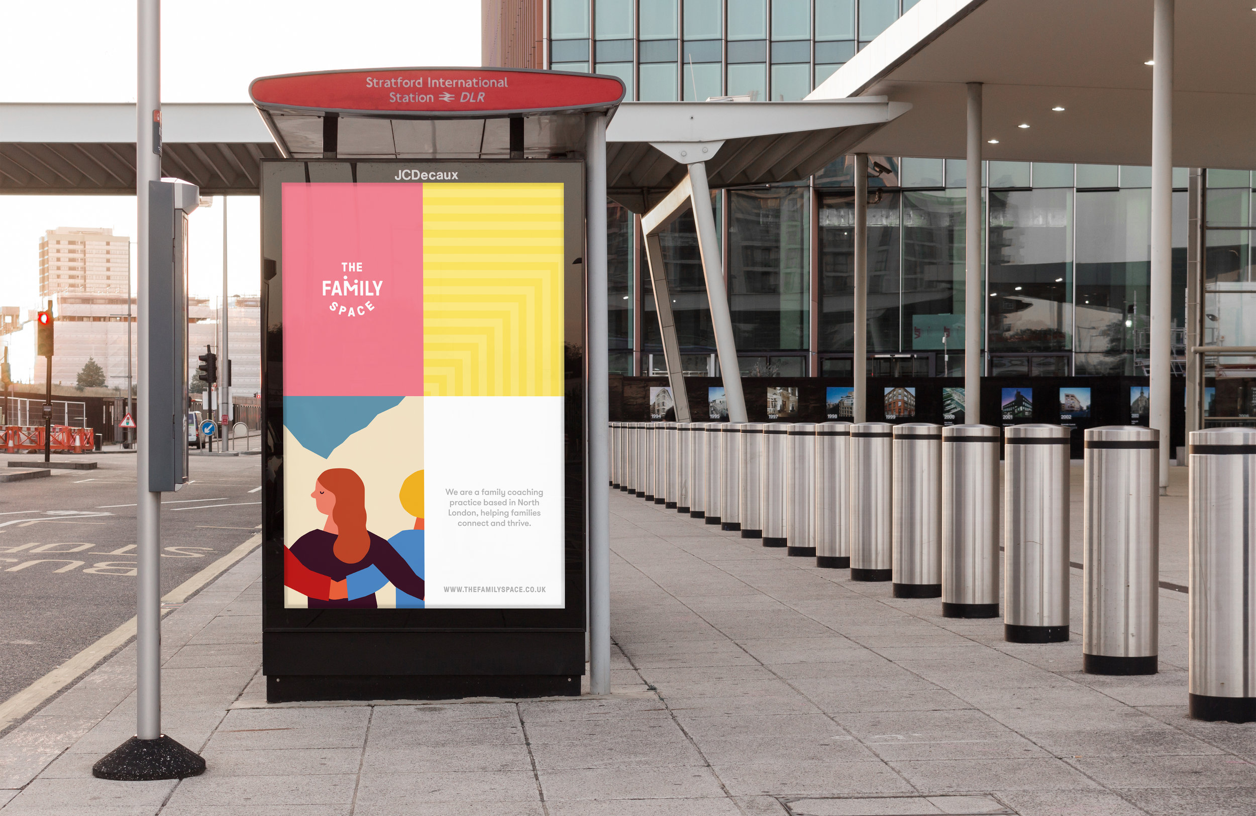 All Works Co._Graphic_Design_Studio_London_TheFamilySpace_Identity_Print_Poster Campaign01
