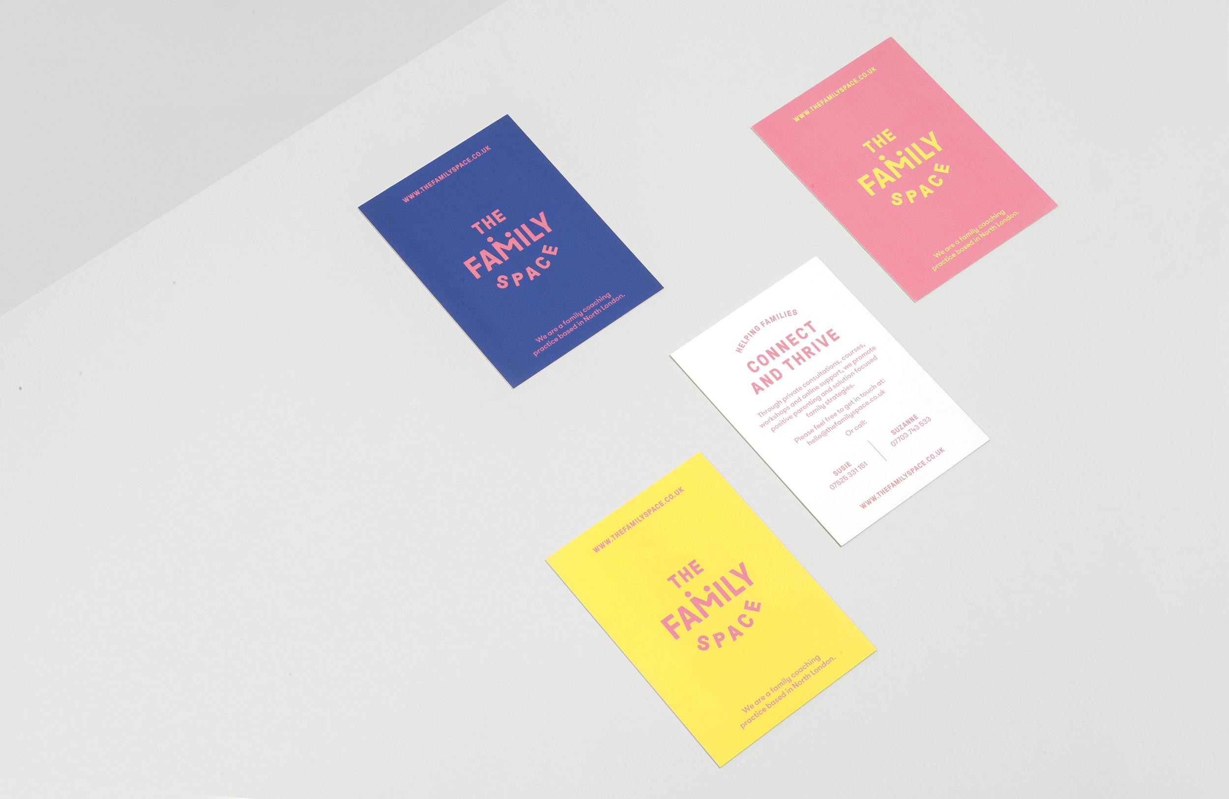 All Works Co._Graphic_Design_Studio_London_TheFamilySpace_Identity_Print_Postcard02