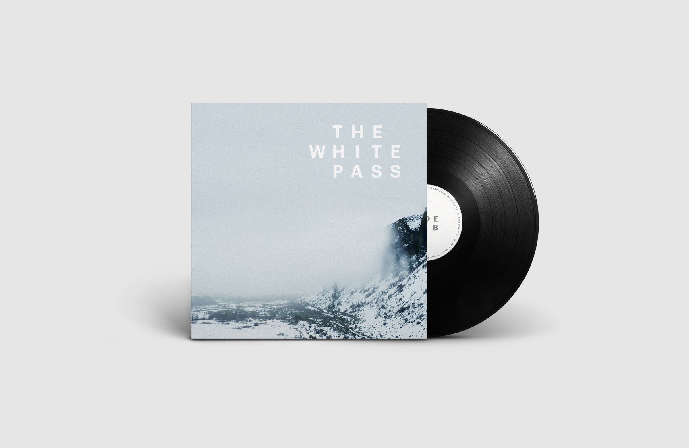 All Works Co._Graphic_Design_Studio_London_TheWhitePass_Film_Soundtrack_Vinyl_Record_Cover