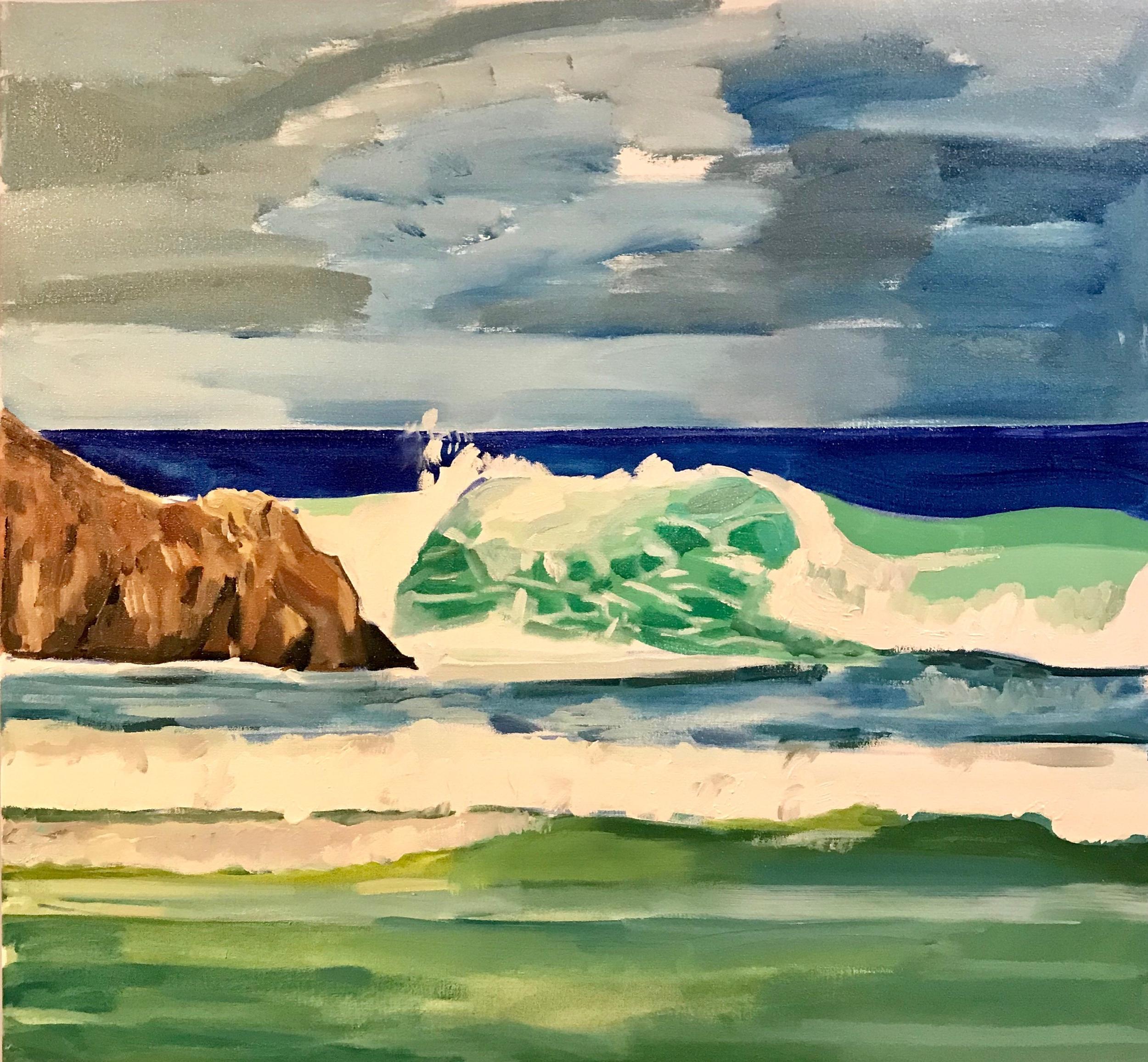 Autumn 90 x 90cm oil on canvas 2018